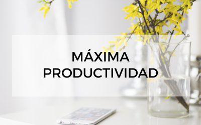 Máxima Productivdad